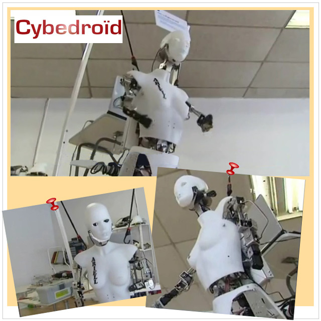 Le robot Ariell Cybedroïd