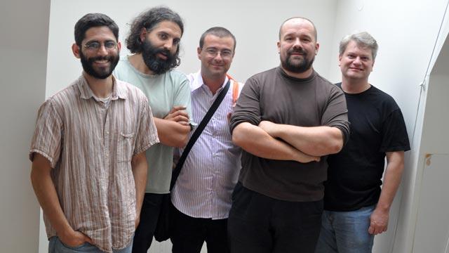 Photo des membres développeurs du projet Arduino