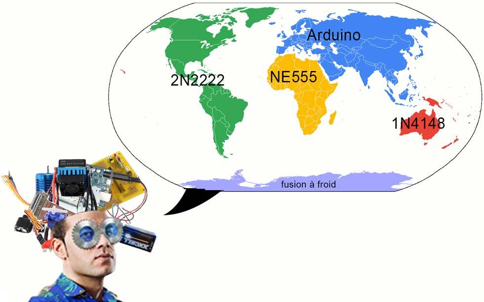 Vision du monde selon les électroniciens