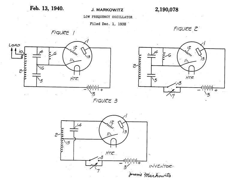 Schéma de l'oscillateur stable Jerome MARKOWITZ
