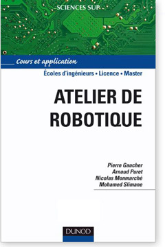 Livre Atelier de robotique