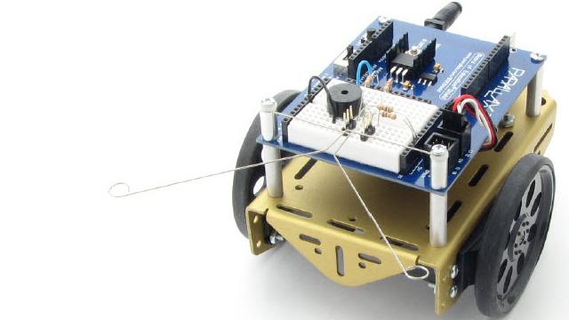 Un kit de robot à construire et à programmer