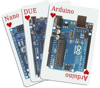 Gamme des cartes Arduino