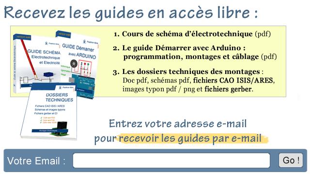 Lien en image pour l'accès aux guides pdf