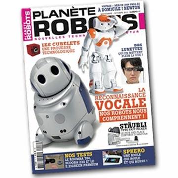 Couverture du  magazine Planète robots 17